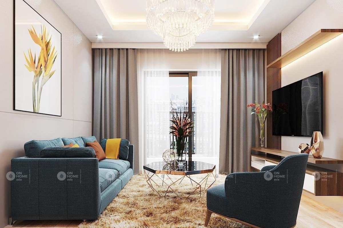 Một góc phòng khách chung cư