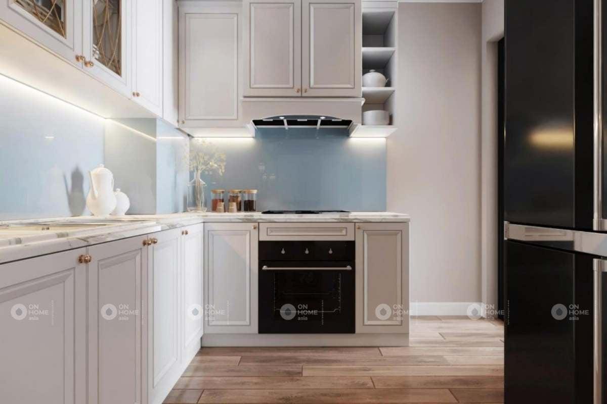 Thiết kế tủ bếp sang trọng