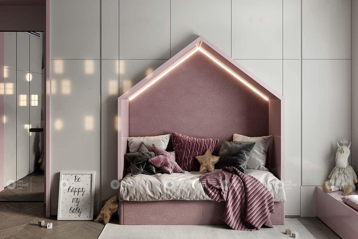 Thiết kế phòng ngủ trẻ em dễ thương