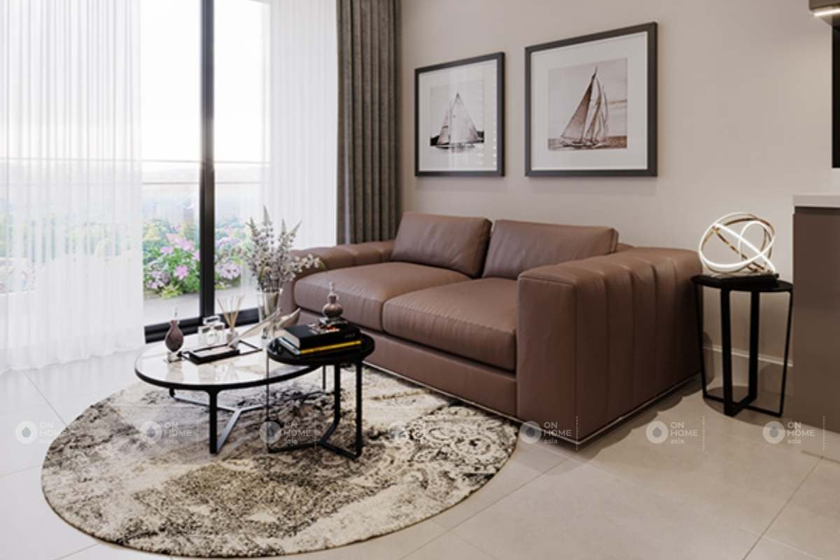 Nội thất phòng khách chung cư 90m2