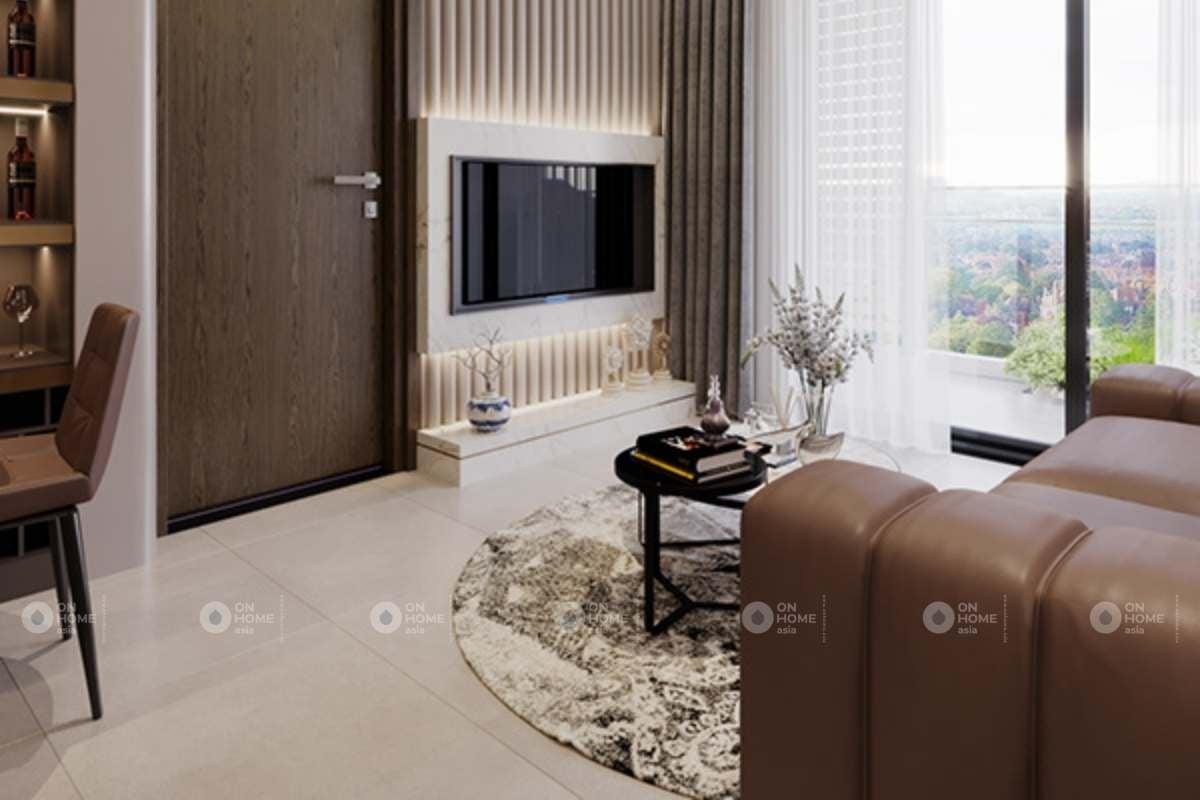 Kệ tivi treo tường phòng khách