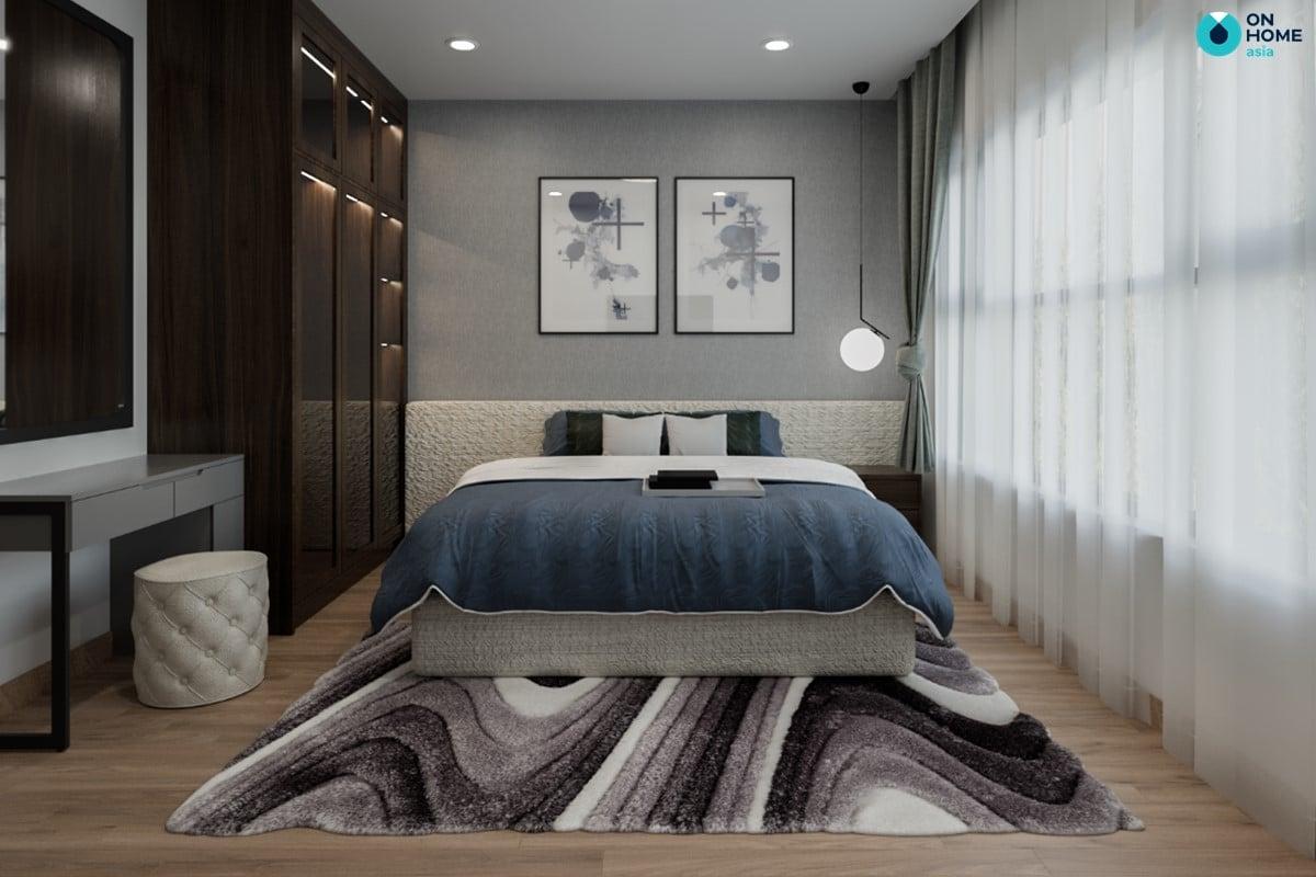 Nội thất phòng ngủ căn 2BRC - Mẫu 3