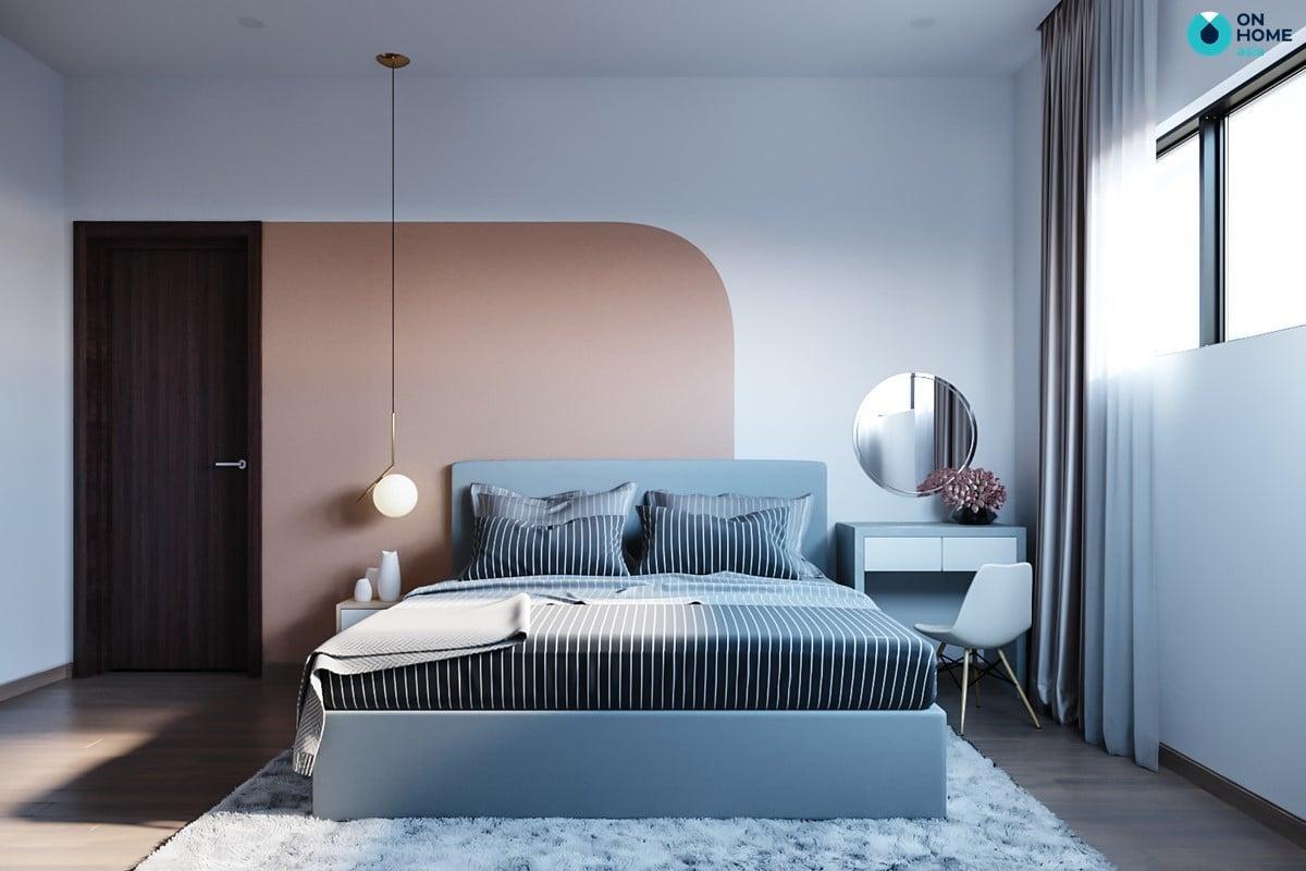 Nội thất phòng ngủ master căn hộ Habitat