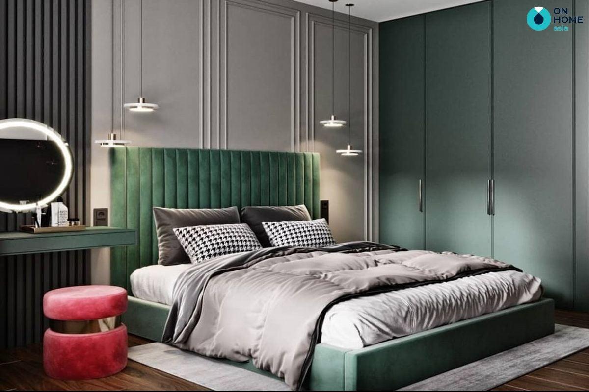 Các mẫu giường ngủ với thiết kế đẹp và sang trọng