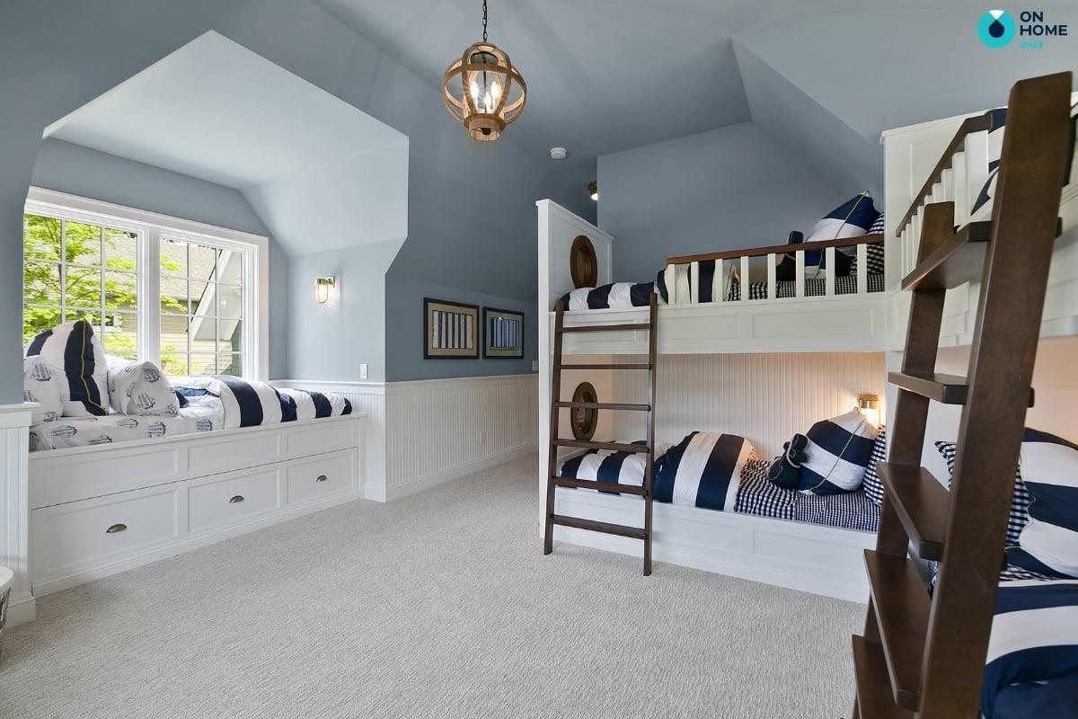 Phòng ngủ  dành cho không gian cho các bé