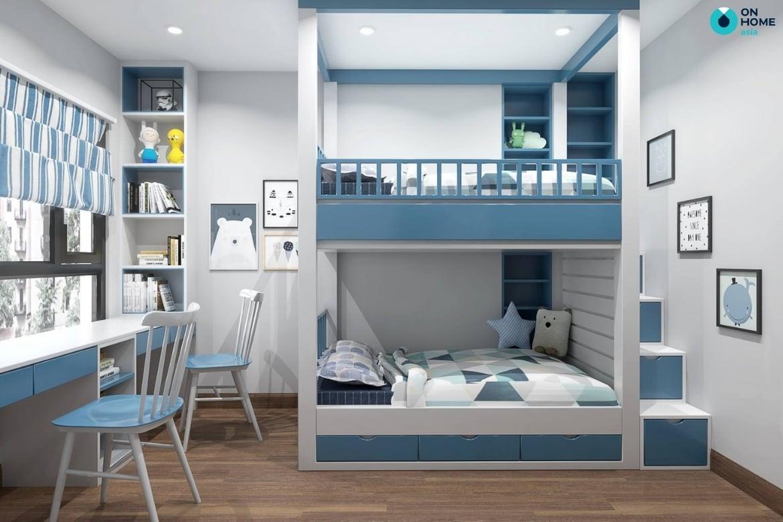 Giường tầng dành cho bé trai theo cá tính