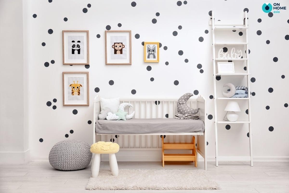 Mẩu phòng ngủ đơn giản dành cho bé trai