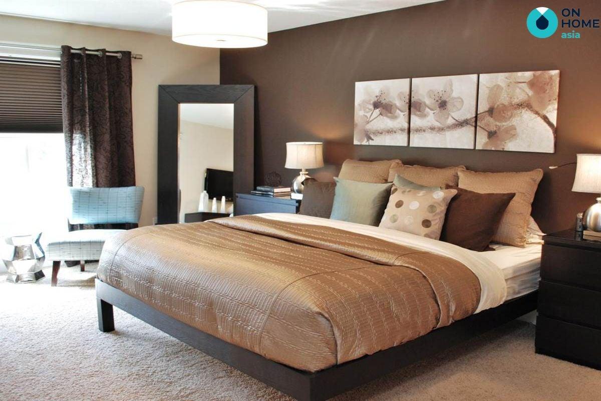 Màu sắc phù hợp cho không gian phòng ngủ