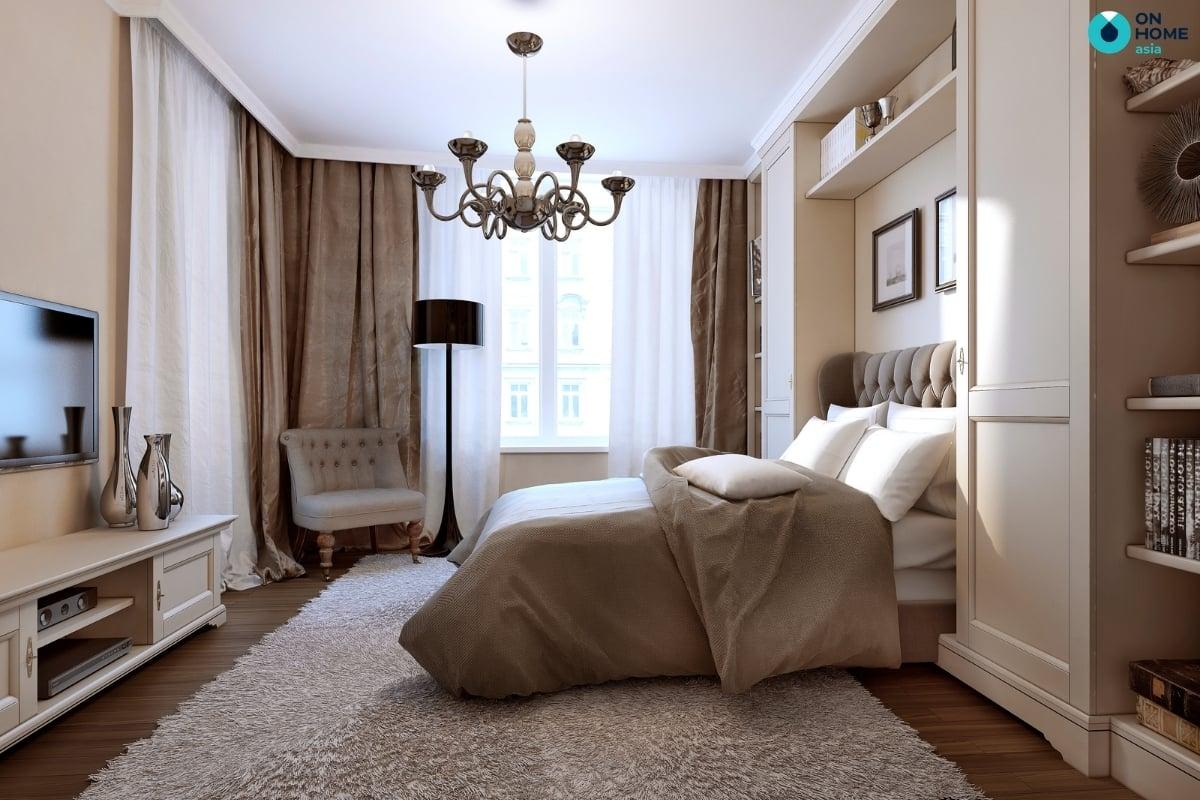 Thảm lông cho phòng ngủ master
