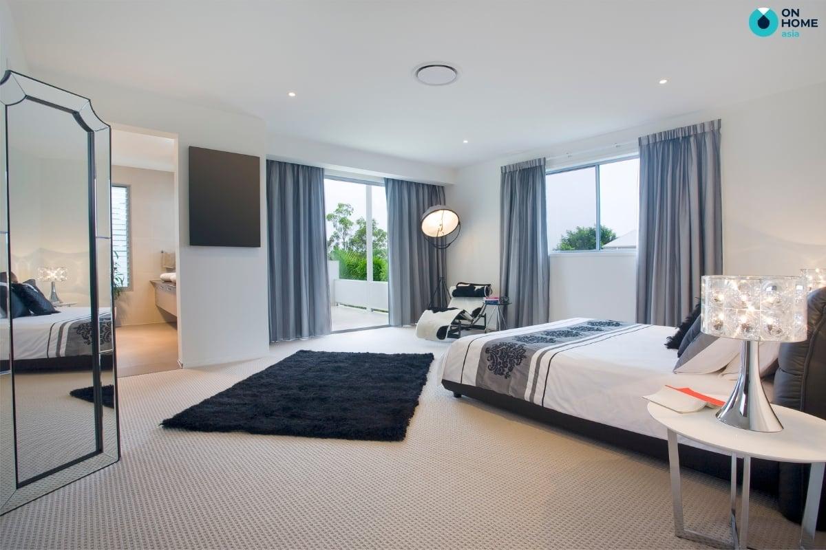 thảm màu đen đẹp