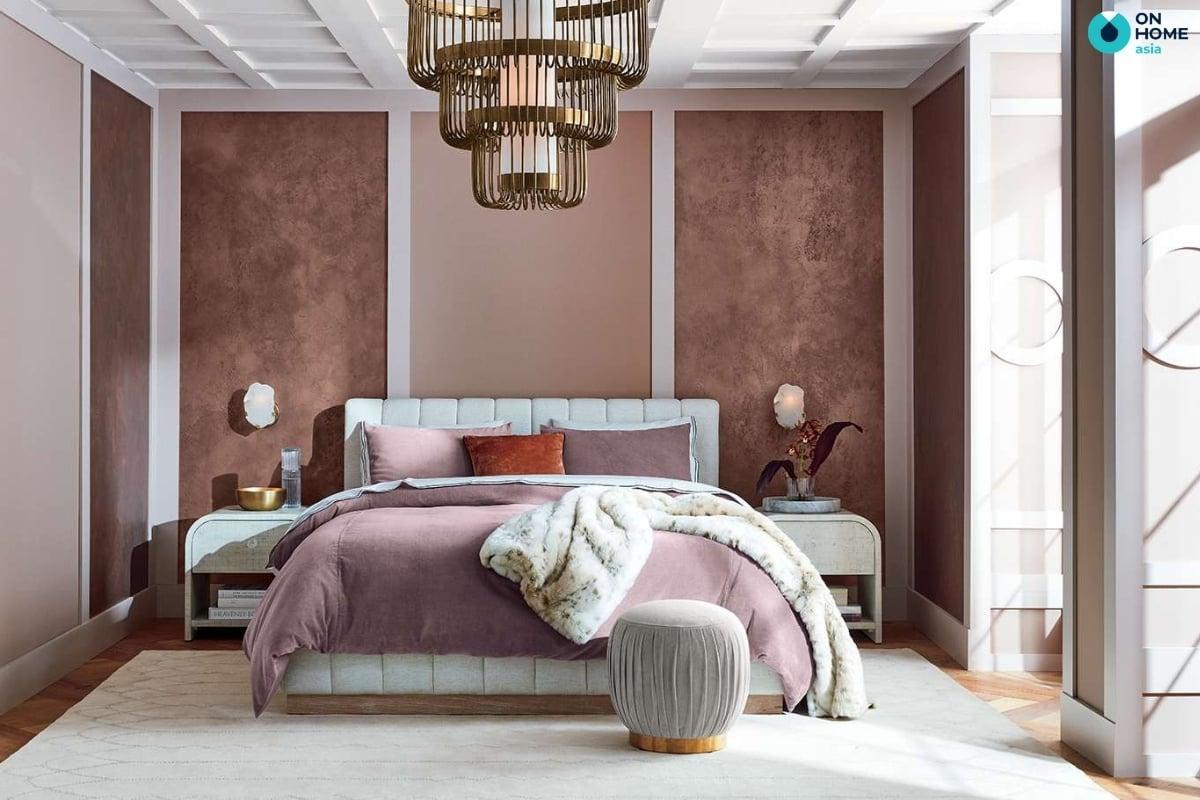 thảm trang trí phòng ngủ sang trọng