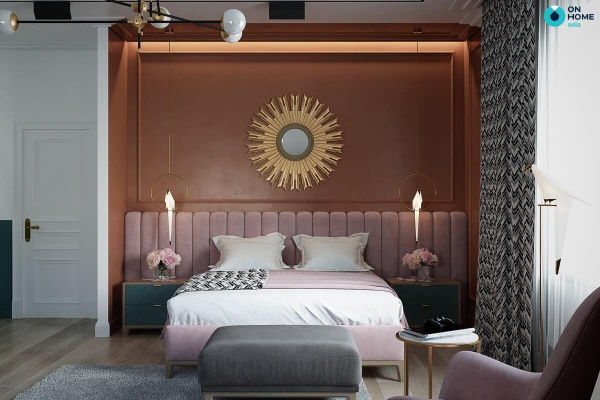 thảm phòng ngủ tân cổ điển