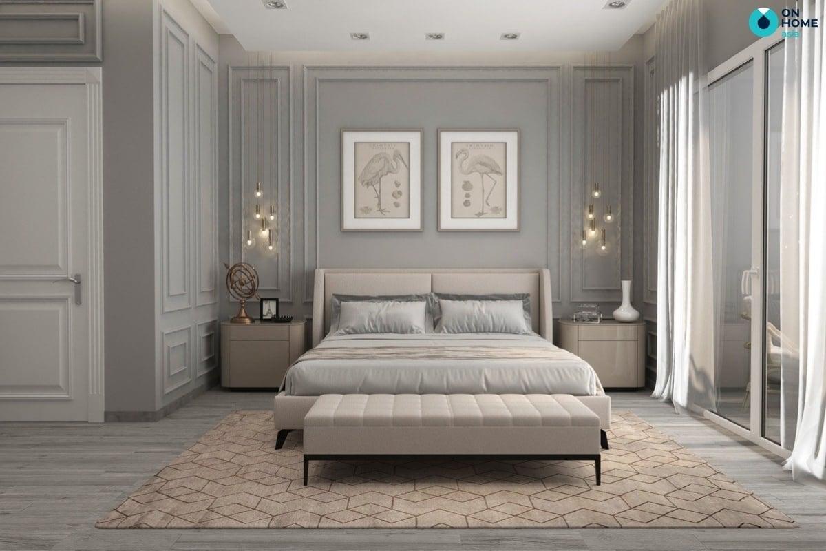 thảm phòng ngủ master