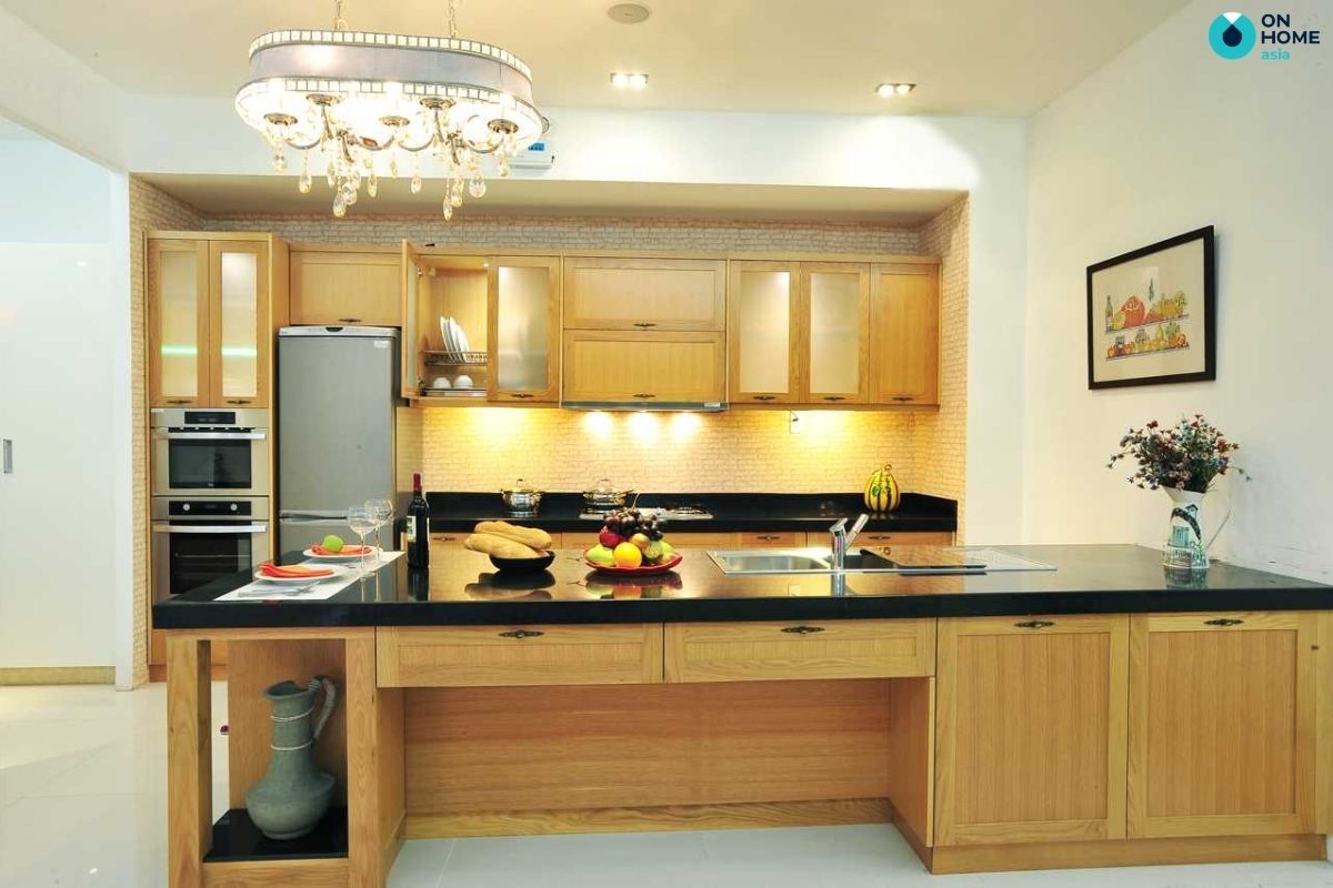 lựa chọn màu sơn phòng bếp phù hợp