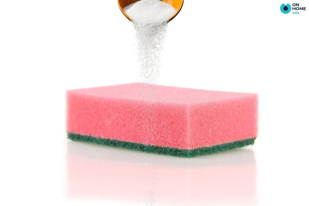 muối có tác dụng vệ sinh ly sứ