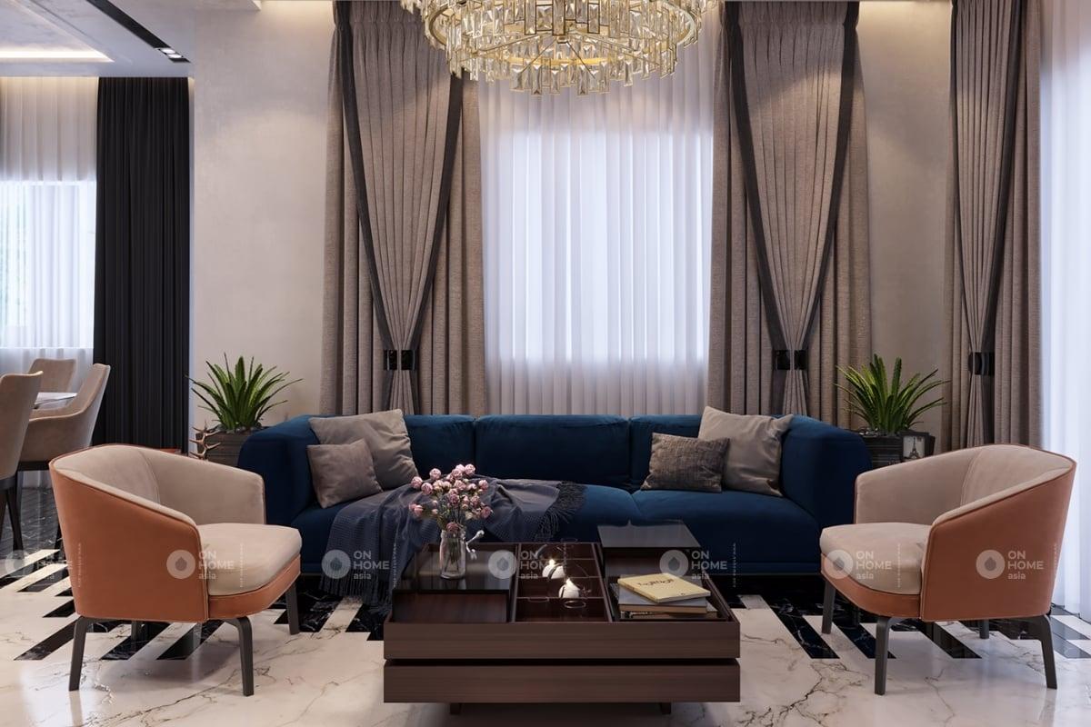 nội thất chung cư 60 m2 có 2 phòng ngủ mẫu 1 (2)