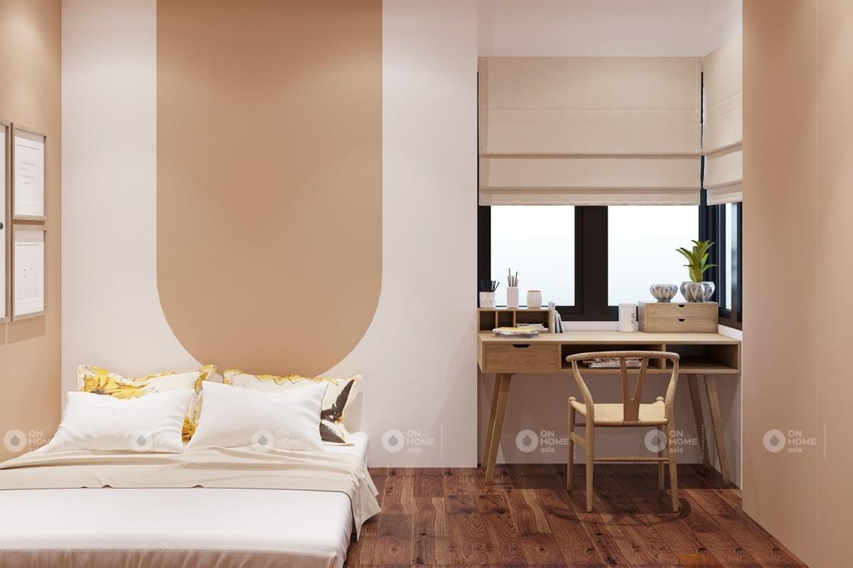 Không gian phòng ngủ phong cách Bắc Âu
