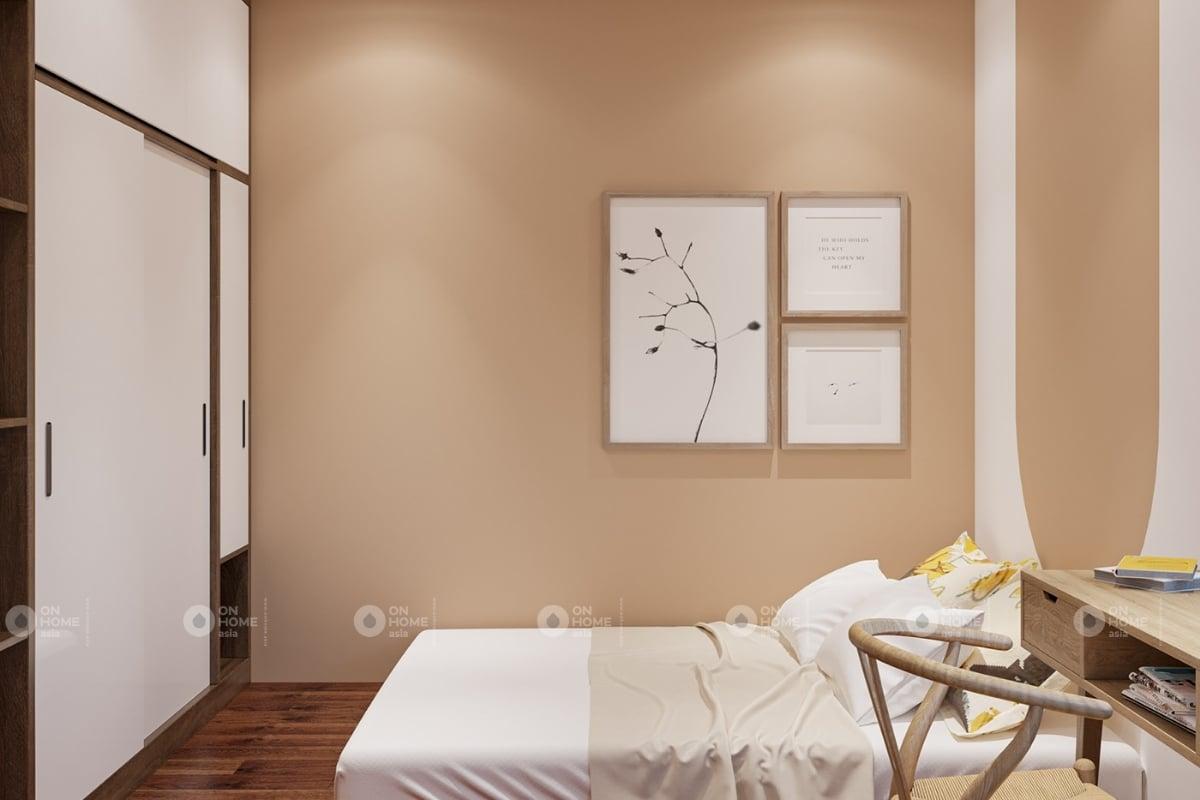 Một góc phòng ngủ căn hộ chung cư