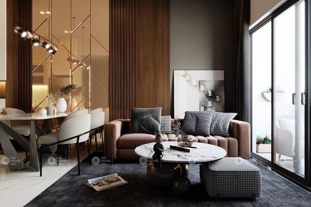 nội thất chung cư 60 m2 có 2 phòng ngủ mẫu 4 (2)