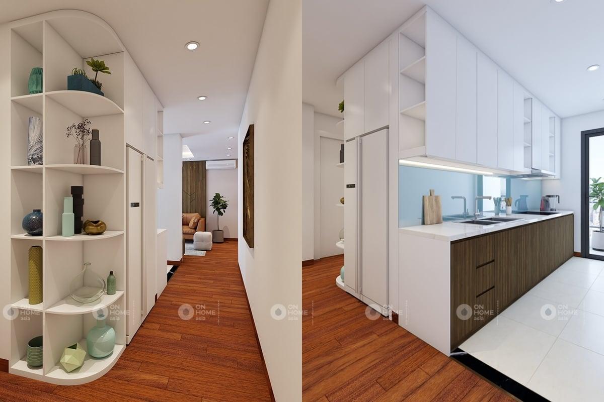 nội thất chung cư 60 m2 có 2 phòng ngủ mẫu 6 (7)
