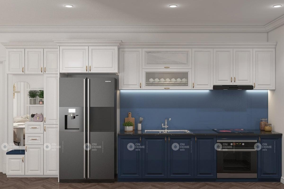 nội thất chung cư 60 m2 có 2 phòng ngủ mẫu 9 (5)