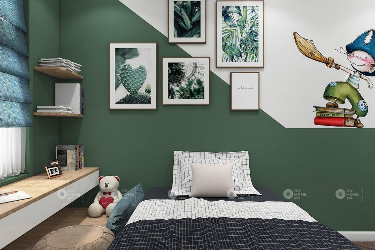 nội thất chung cư 60 m2 có 2 phòng ngủ mẫu 9 (8)