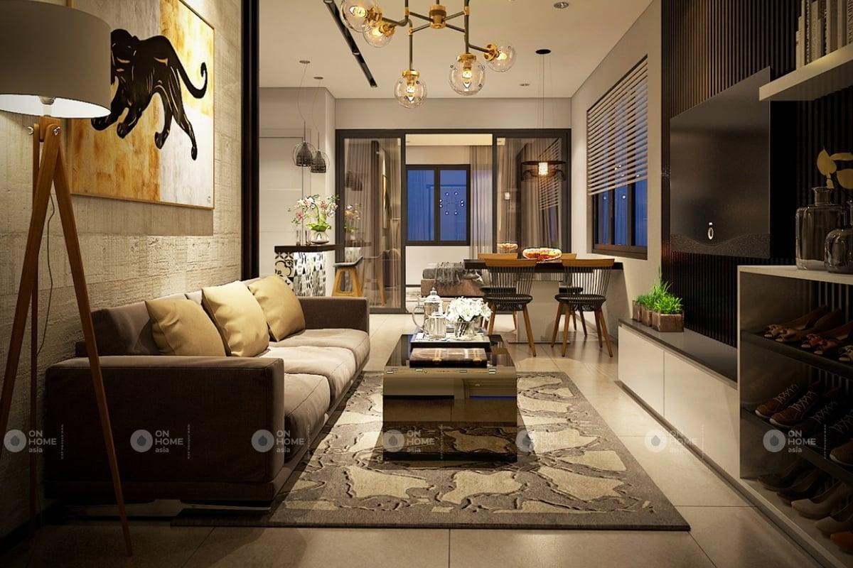 nội thất chung cư 60 m2 mẫu 4 (2)