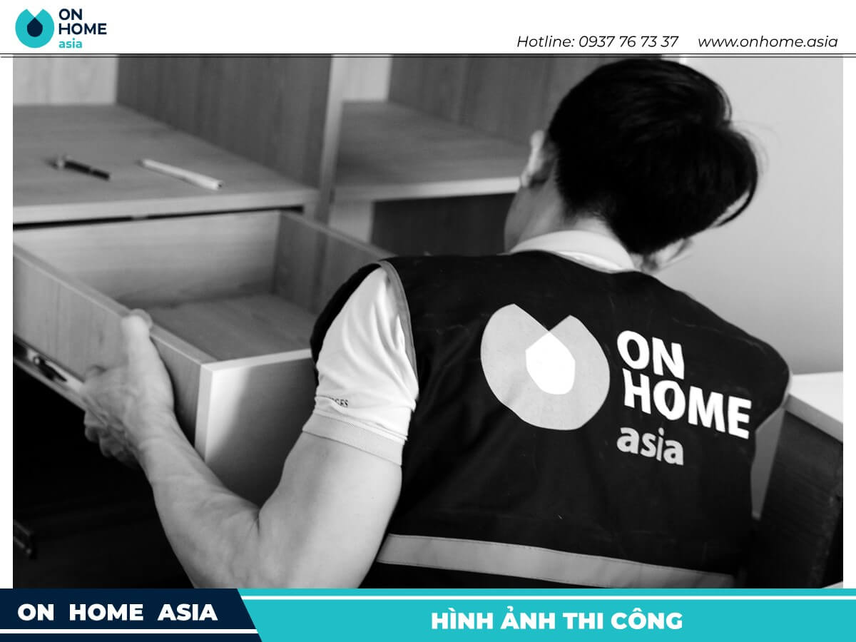nhan vien on home asia thi cong noi that