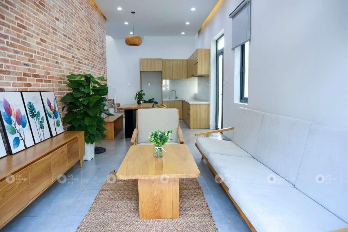 Nội thất không gian phòng khách 4m2