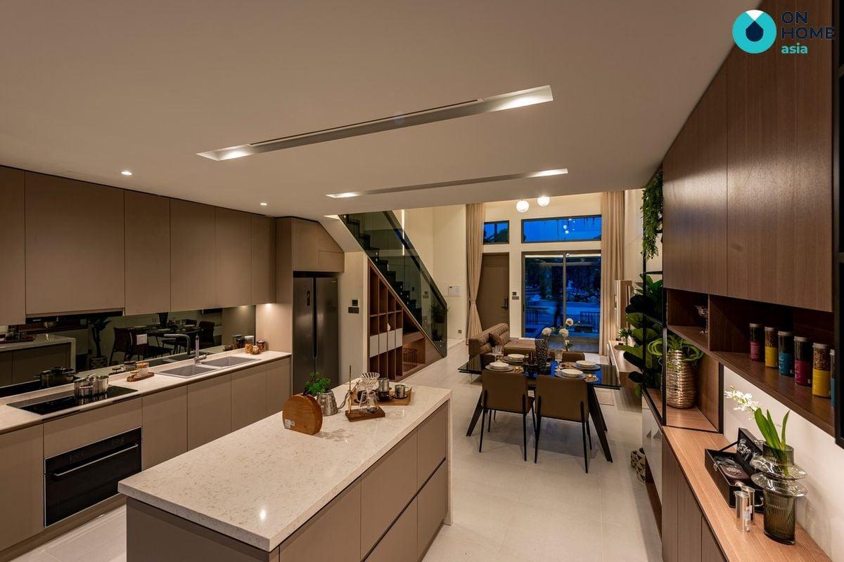Nội thất phòng bếp nhà phố The Standard 3 tầng