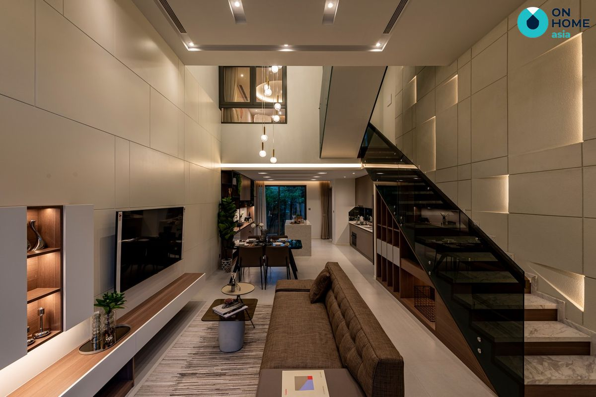 Nội thất phòng khách nhà phố The Standard 3 tầng