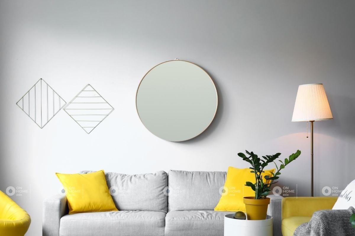 Gương tròn trang trí