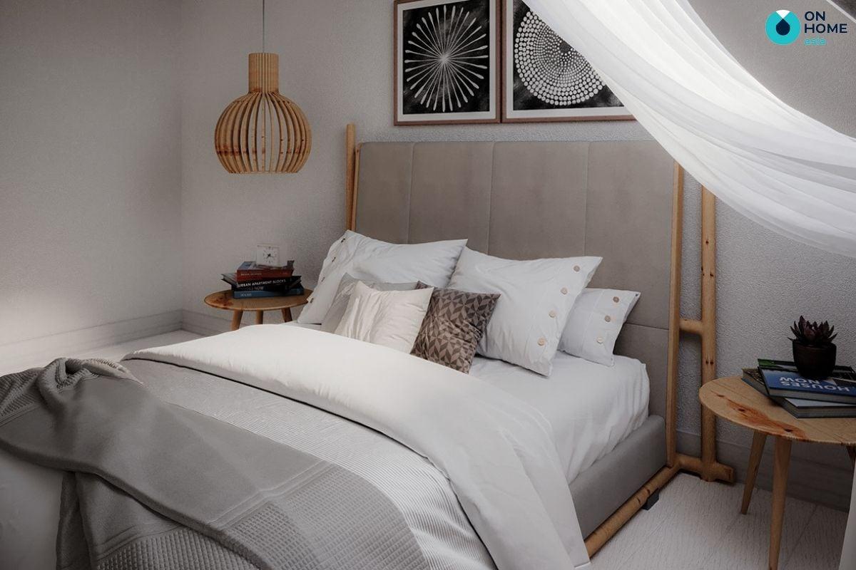 Thiết kế nội thất phòng ngủ với phong cách Bắc Âu