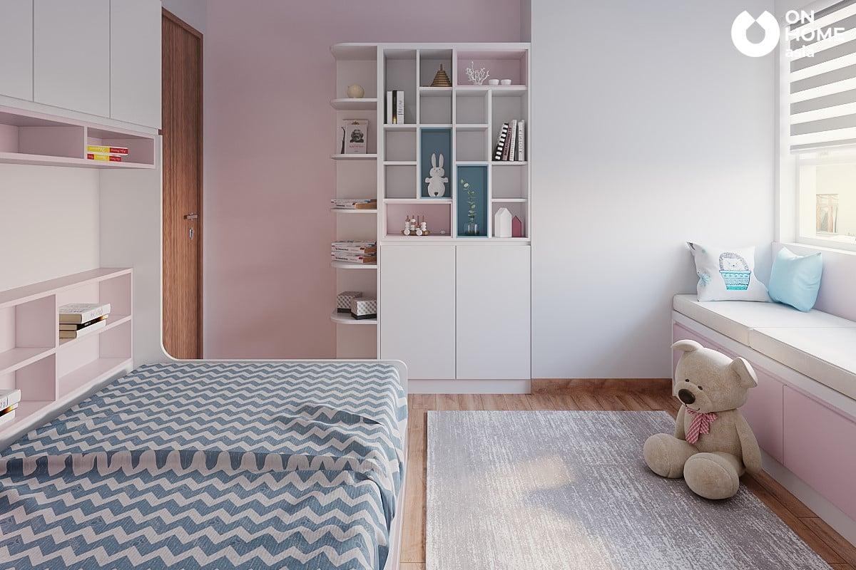 Phòng ngủ dành cho bé gái