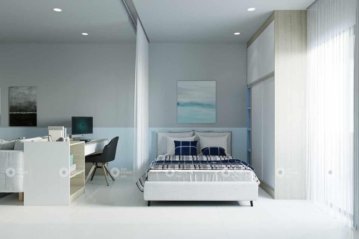Nội thất căn hộ chung cư Eco Xuân Sky Residence 1 phòng ngủ