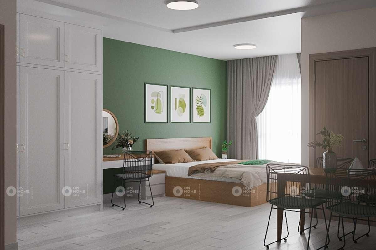 Không gian sống căn hộ Happy One 1 phòng ngủ