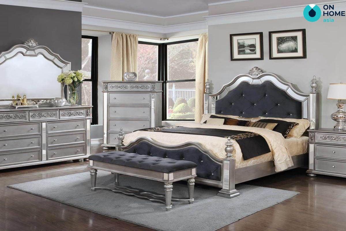 Phòng ngủ được thiết kế