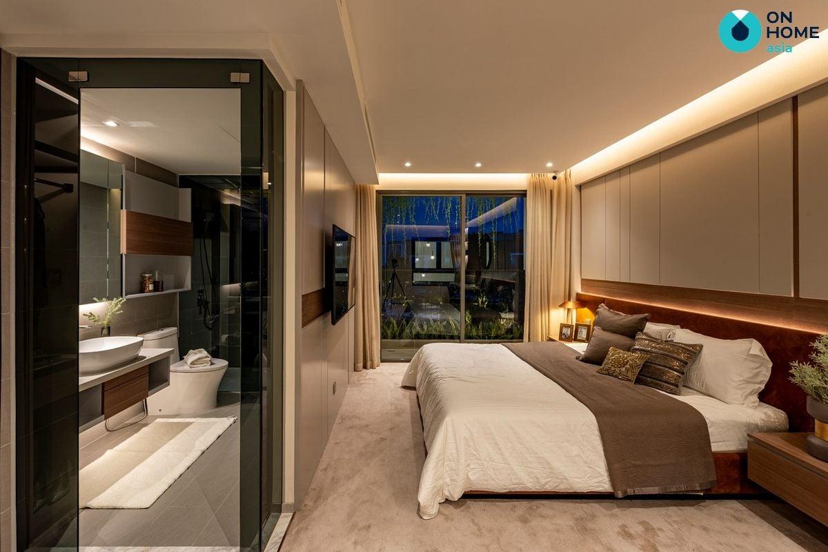 Nội thất phòng ngủ master nhà phố The Standard 3 tầng