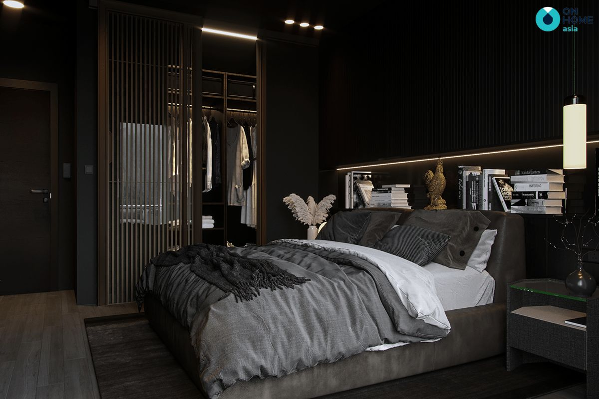 Không nên dùng gam màu tối như màu đen sẽ khiến gia chủ khó ngủ và dễ gặp ác mộng