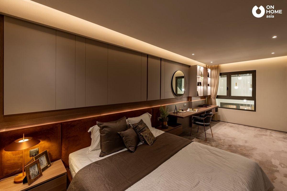 Nội thất phòng ngủ nhà phố The Standard Central Park