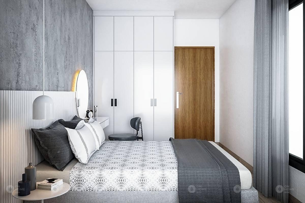 Thiết kế nội thất phòng ngủ của căn hộ Sora Gardens II