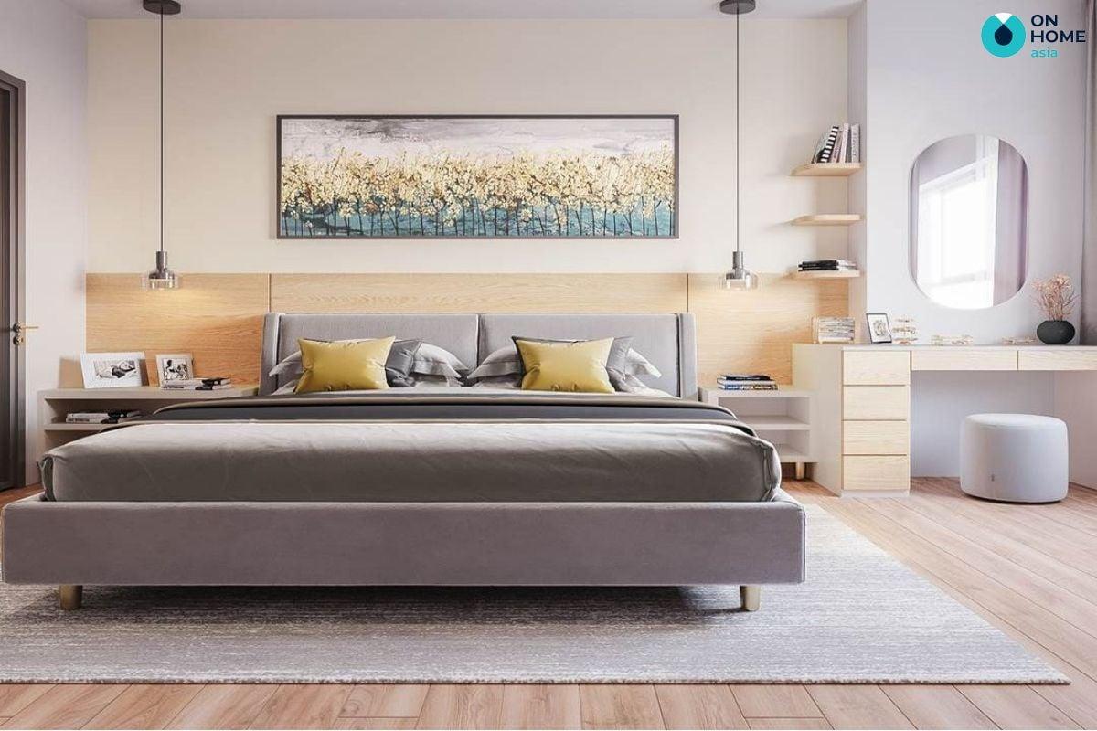 Thiết kế nội thất phòng ngủ tại căn hộ The View