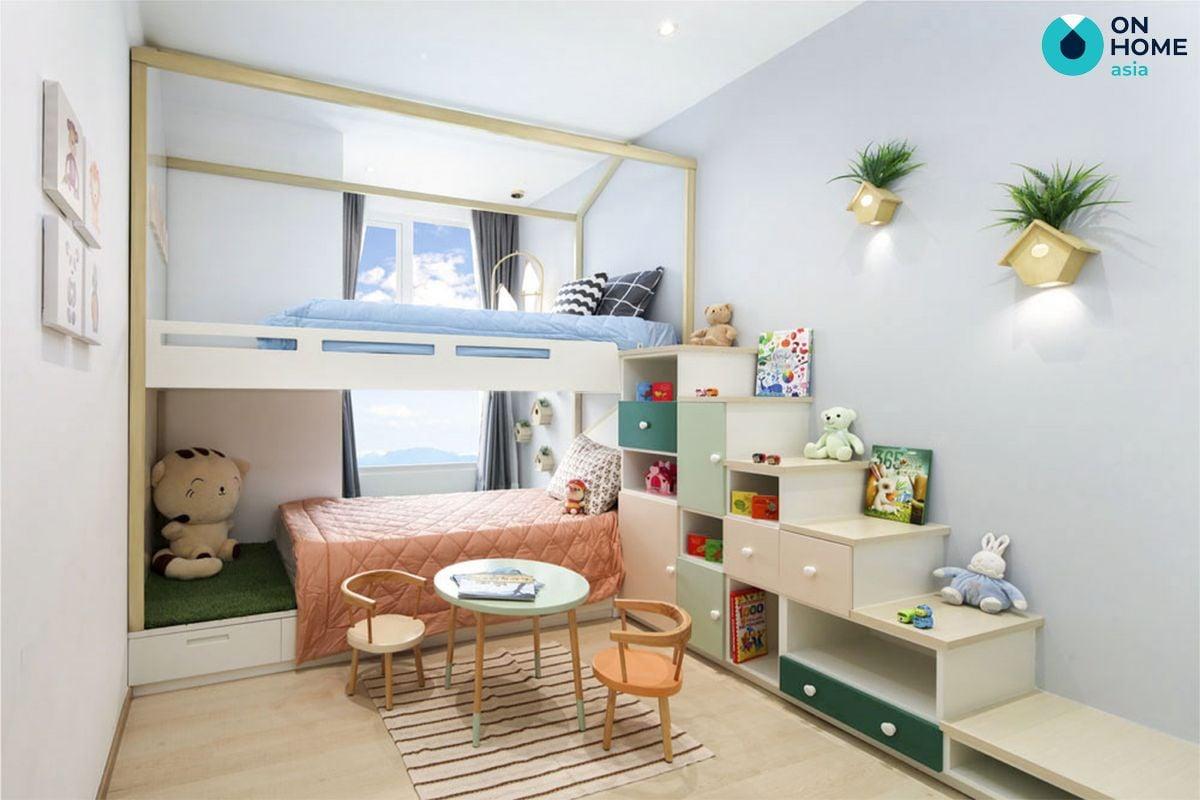 Astral City  nội thất phòng ngủ trẻ em căn hộ 3 phòng ngủ