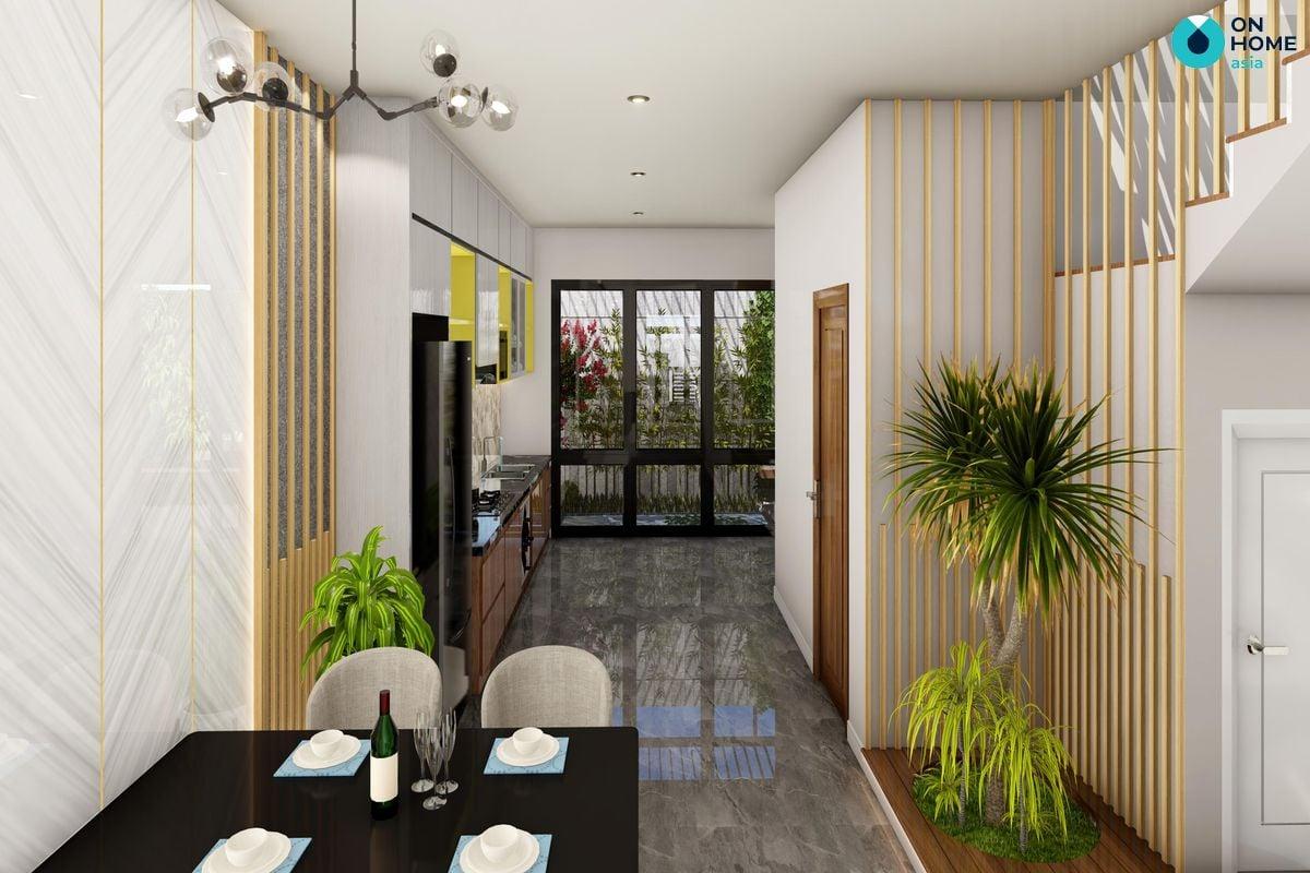 Phòng ăn nhà phố Ecolakes Mỹ Phước