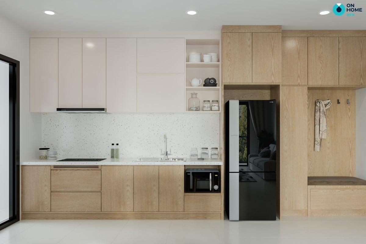 Nội thất phòng bếp căn 2BRC - Mẫu 3