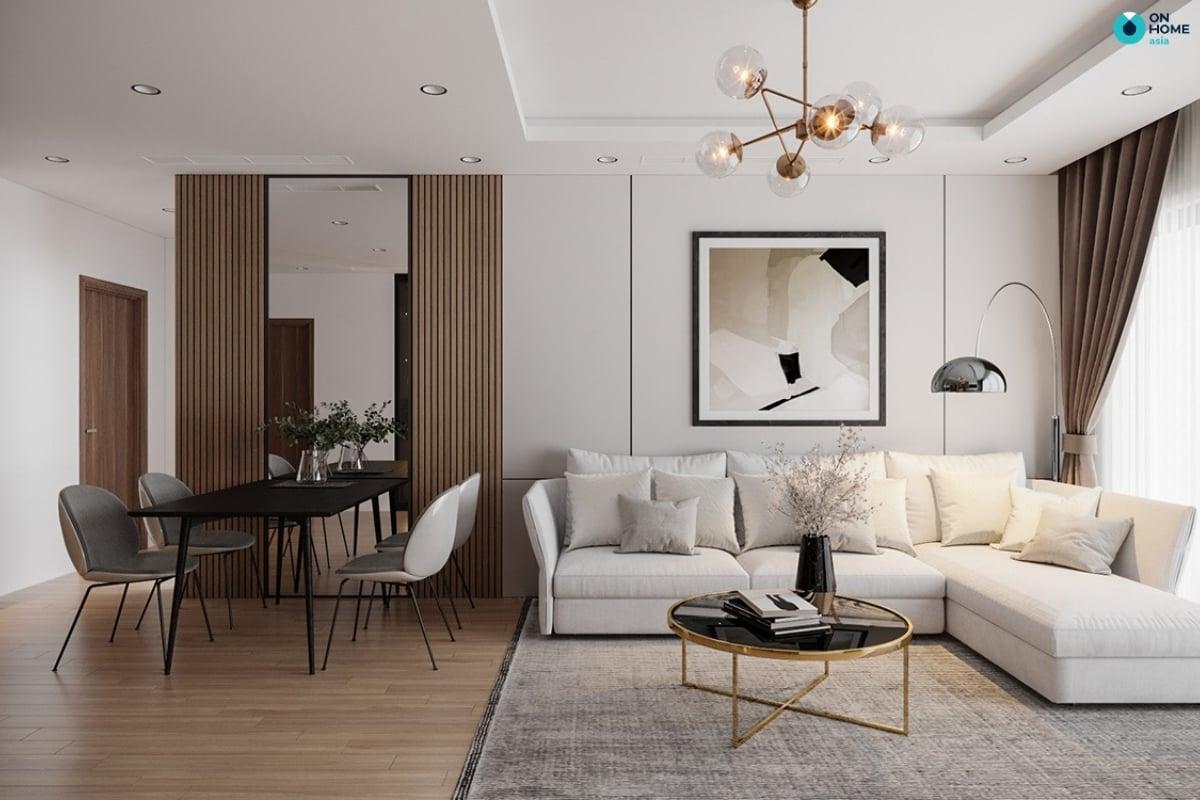 Thiết kế nội thất căn hộ chung cư theo phong cách hiện đại