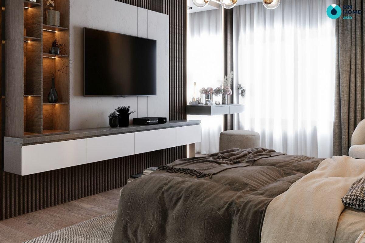 Phòng ngủ mang phong cách tối giản