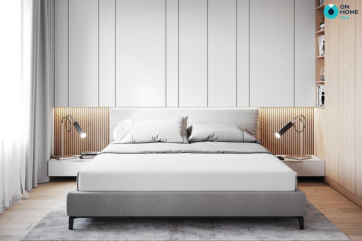 Nội thất phòng ngủ mang phong cách tối giản