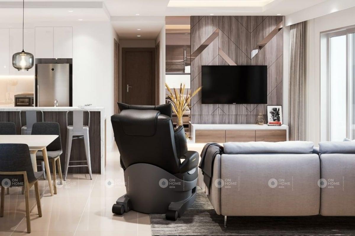 Một góc phòng khách chung cư The View