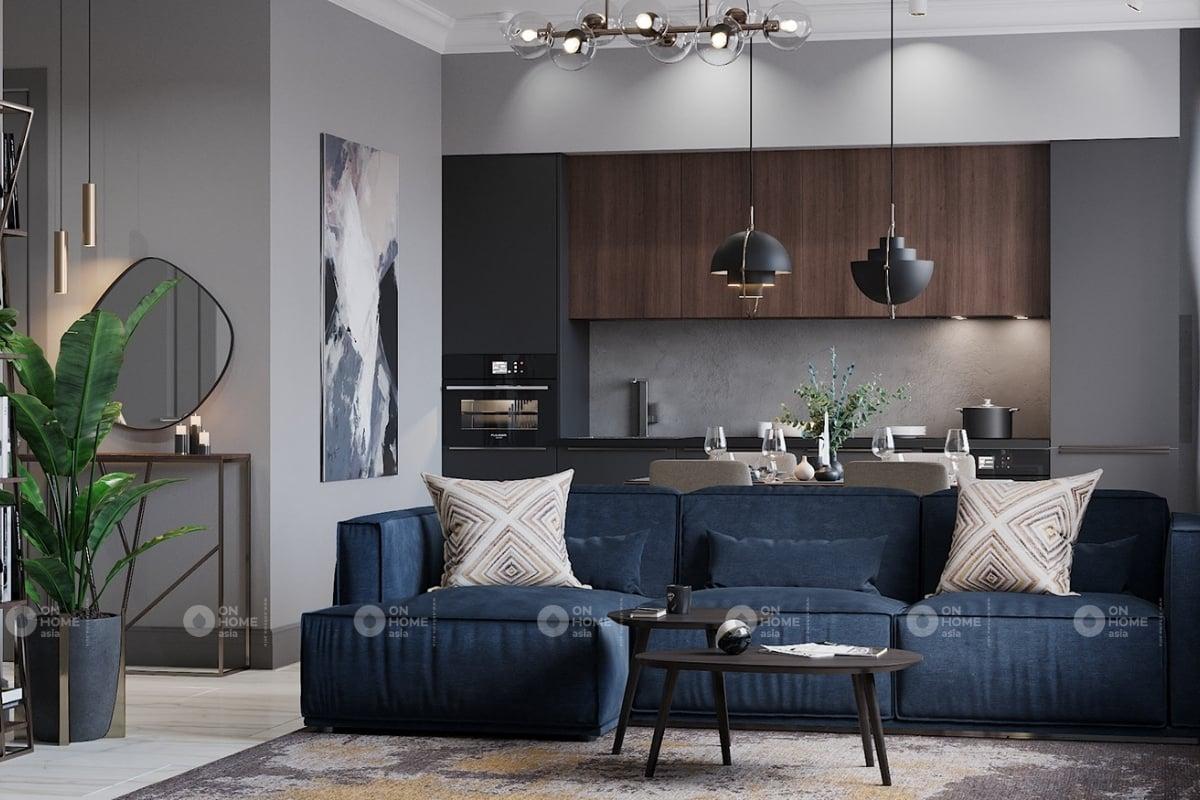 Trang trí nội thất đẹp cho phòng khách chung cư